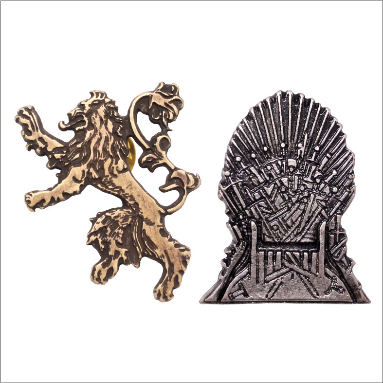 Game of Thrones Pin Kit - Lannister House
