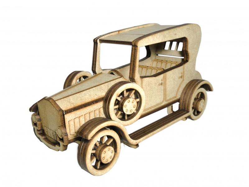 Quebra-Cabeça 3D - Carro Clássico
