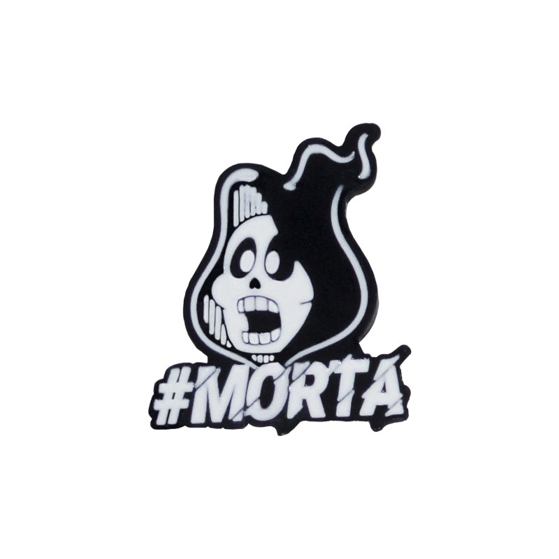 Enamel Pin from Monica s Gang - #Morta