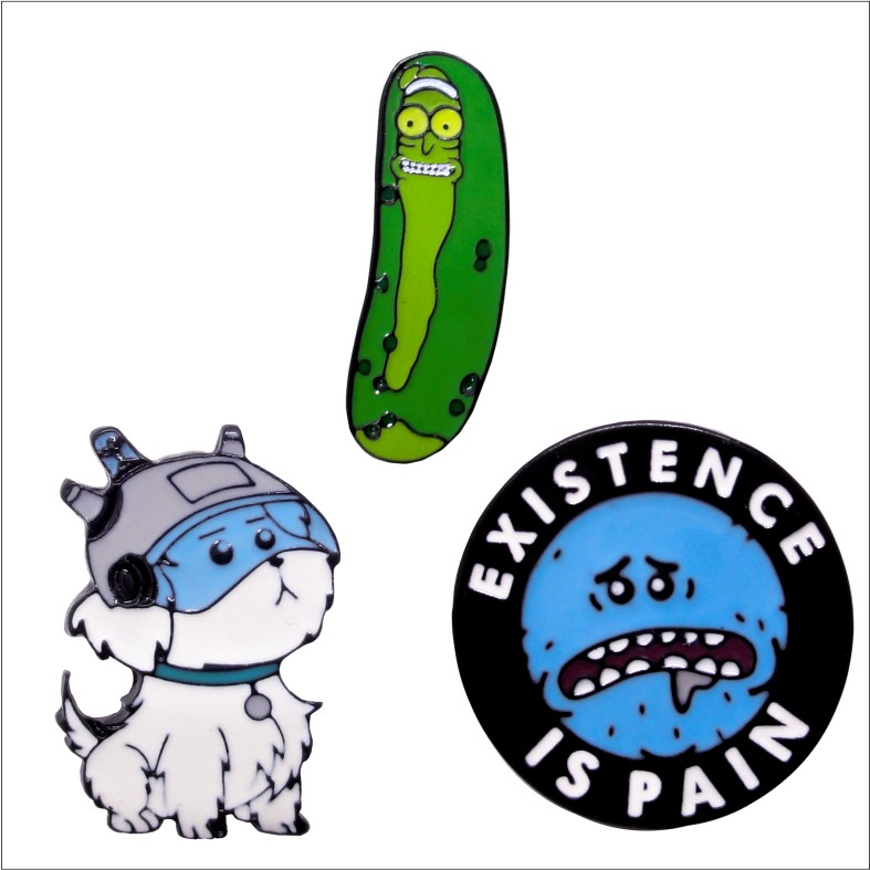 Kit Pins Rick and Morty 1