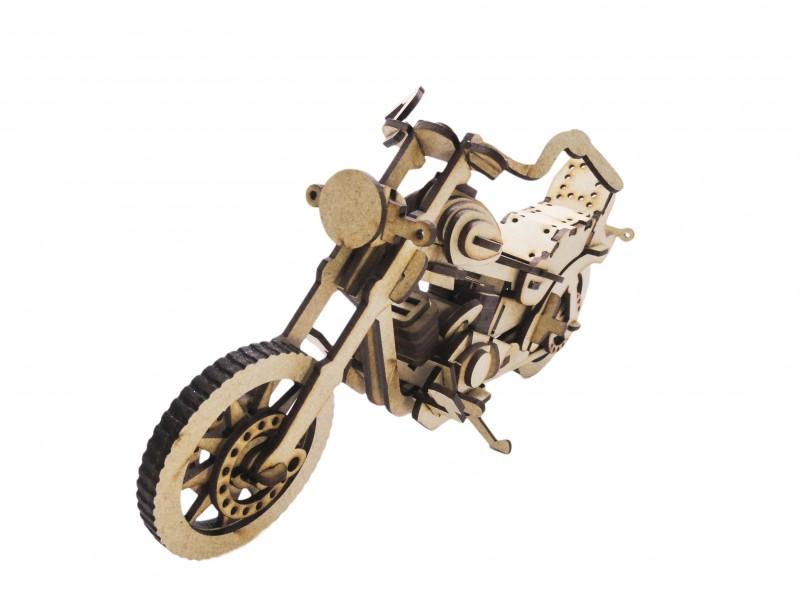 Quebra-Cabeça 3D - Moto Custom