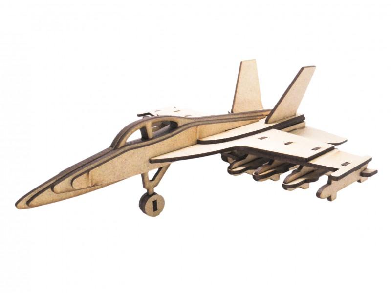 Quebra-Cabeça 3D - F14