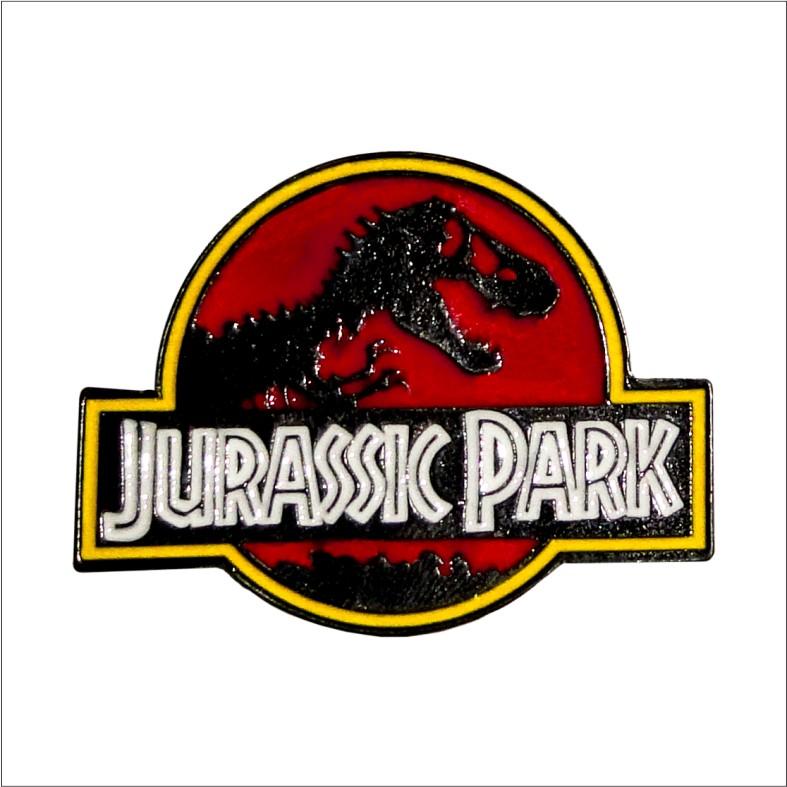 Enamel Pin Jurassic Park