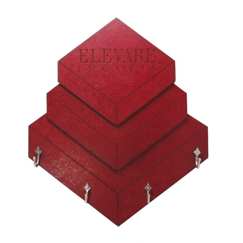 Porta-Chaves Elevare - MDF 3 Camadas