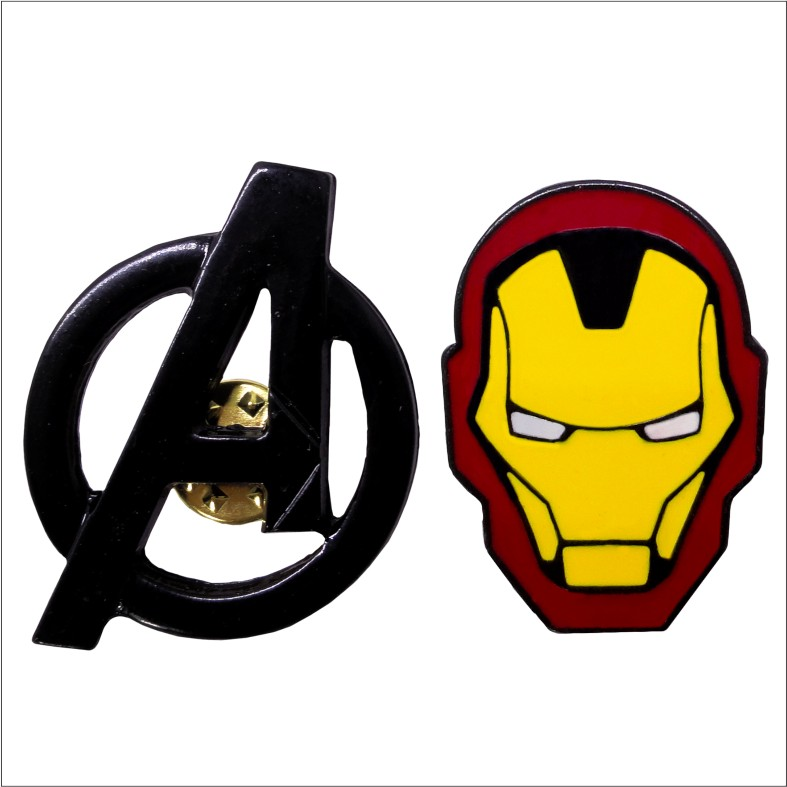 Kit Pins Vingadores